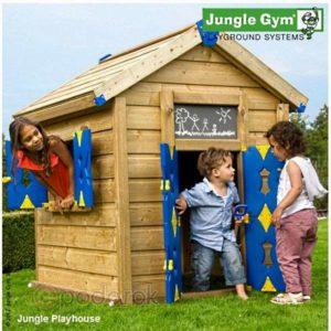 детский деревянный домик компании Jungl Gym, Нидерланды