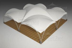 Арочный шатер Классик Тент 16Х16М