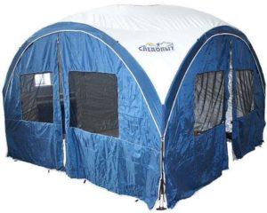 Туристический арочный шатер СЛЕДОПЫТ 3.6 Х 3.6М