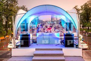 Арочный шатер-тент 5Х5М, компания EDISON Group