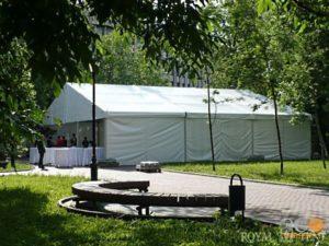 большой классический шатер classic event Rt225 для свадьбы