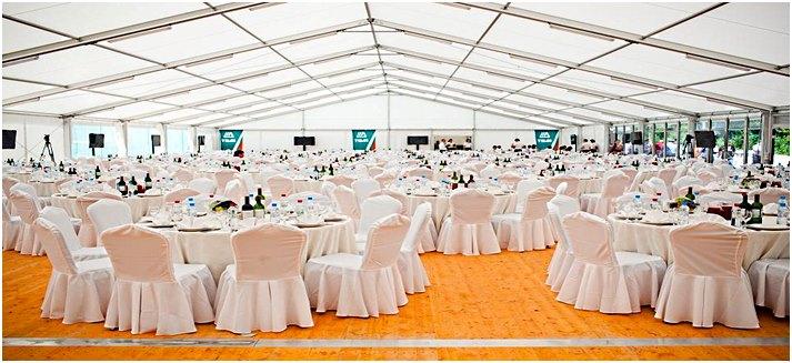 большой шатер павильон для свадьбы
