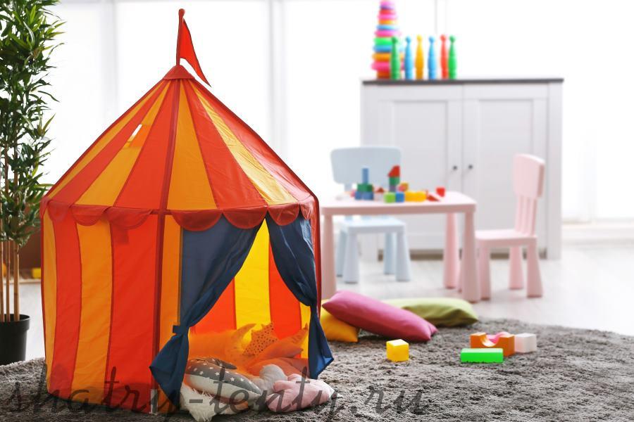 детский каркасный шатер-палатка