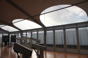 элементы крыши купольного натра пропускающие свет