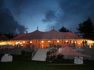 кафе под шатром Пагода 5*5м компании Mobile Tent