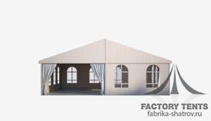 классический шатер 10*10 компании Factory Tents