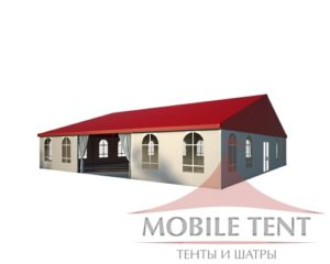 Классический шатёр 15х15 компании MOBILE TENT
