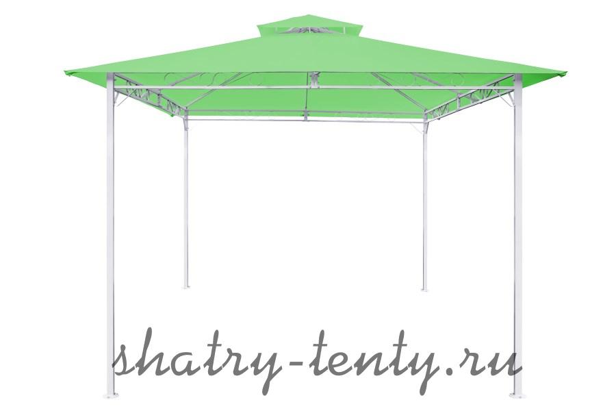 квадратный шатер-беседка с верхним клапаном