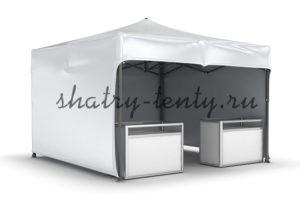 Готовый мобильный шатер для торговли