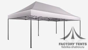Мобильный шатер компании Factory tents