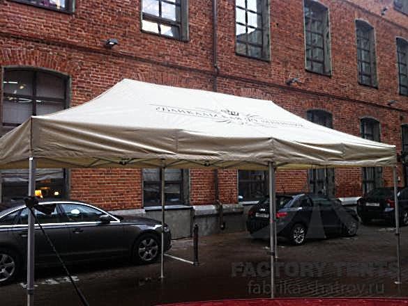 Мобильный шатер Premium 4х8 м, компания «Фабрика шатров»