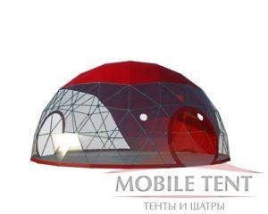 сферический шатер диаметром 10м компании Mobile Tent