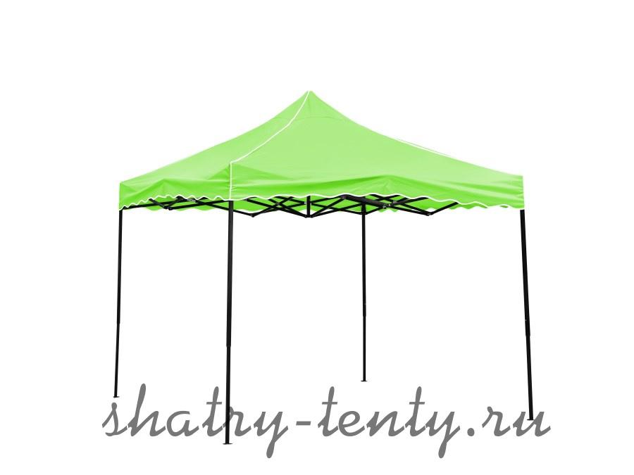 Зеленый шатер гармошка для дачи