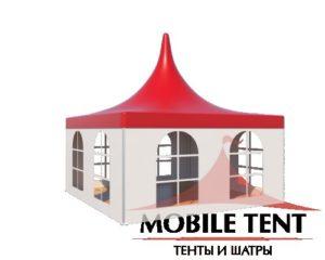 каркасный шатер пагода компании Mobile tent