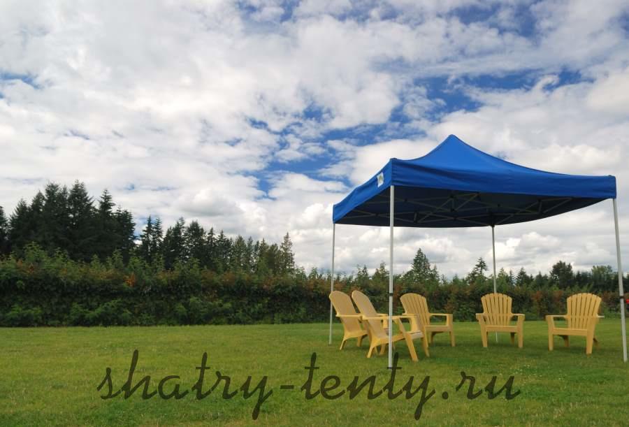 Складной шатер тент для дачи