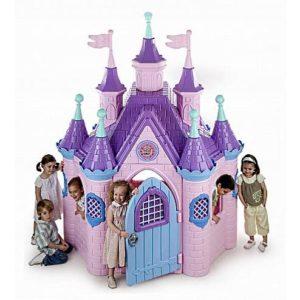 детский домик из пластмассы super-dvorec-feber