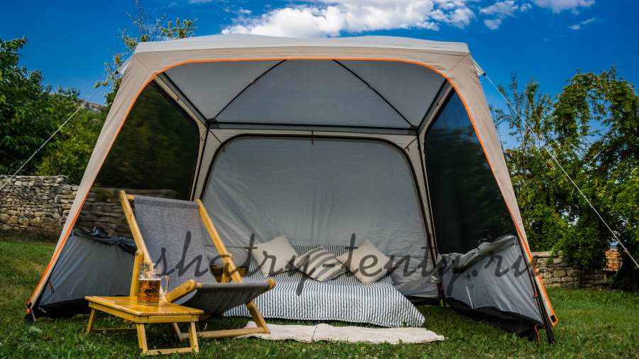 Туристический шатер-палатка для дачи