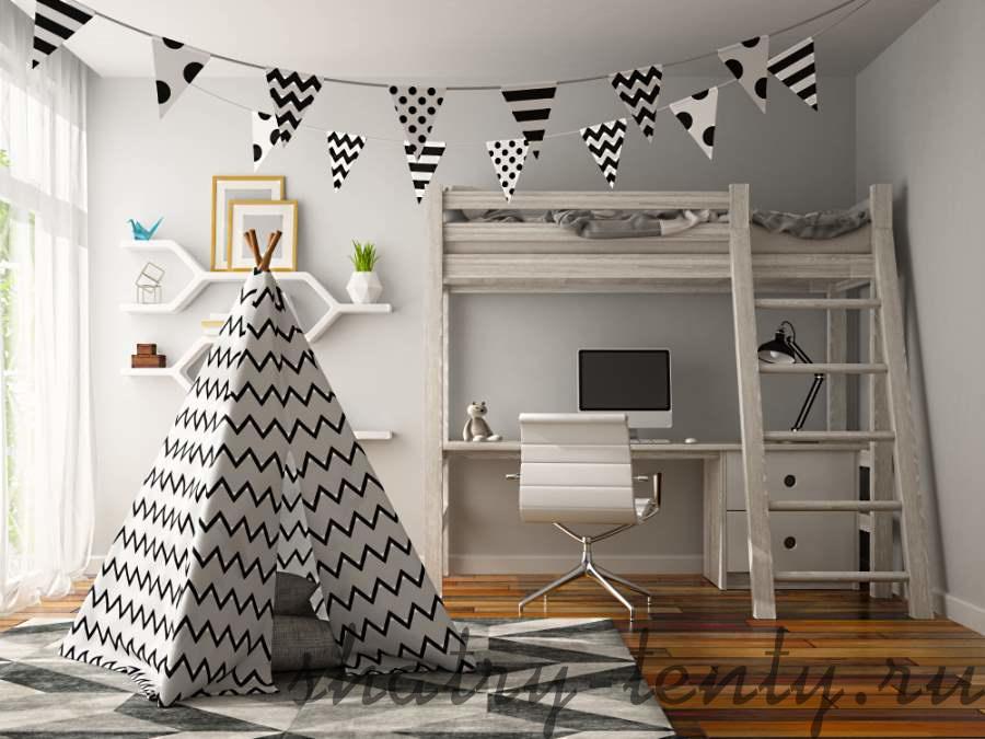 Детский шатер вигвам под дизайн детской комнаты