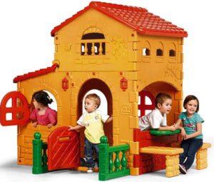 пластиковый детский домик Villa-feber