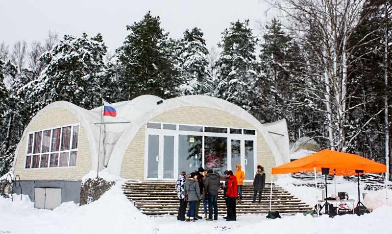 все сезонный арочный шатер