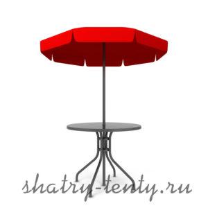 Зонт со столом для дачи