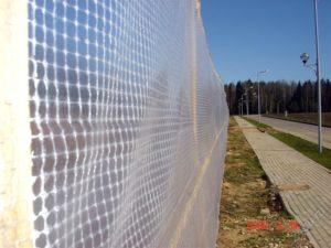 Прозрачная Пленка армированная «TDStels» в парке