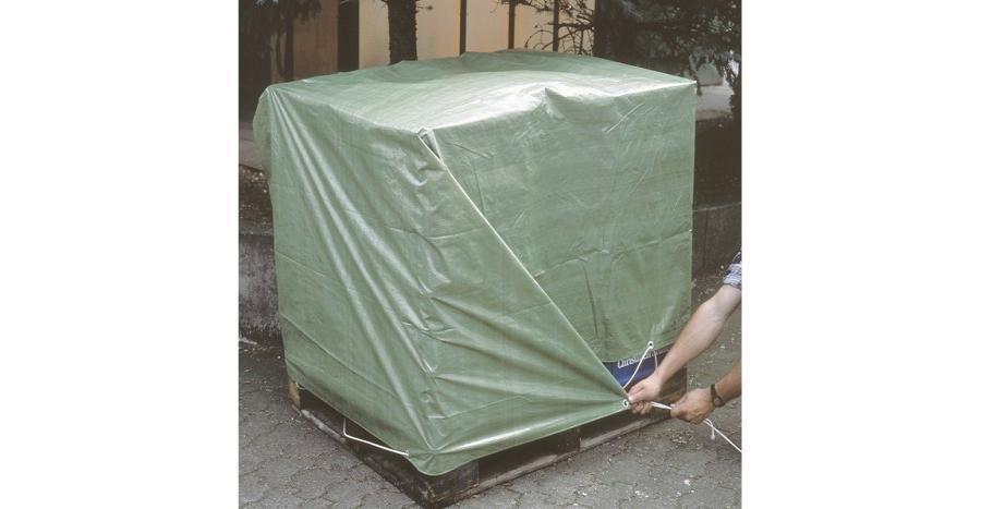 Тент строительный «Lux» для закрытия строительного материала