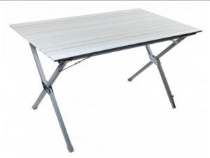 Стол складной TREK PLANET Dinner Roll-up Alu 120 в собранном виде