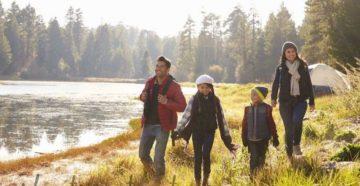 Туристические шатры и тенты для семейного отдыха