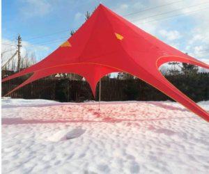 "Бескаркасный шатер тент ""Звездочка"", Yukon, Россия"