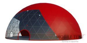 Сферический шатер MOBILETENT 35 Х 35 М