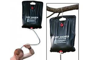Черное приспособление для душевой Camp Shower Производитель Green Helper, Китай