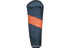 Серо-оранжевый спальный мешок Columbus ХХL