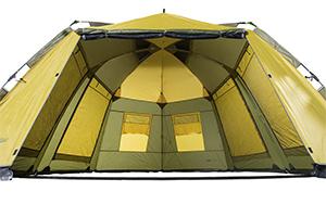 Желтый шатер CRUISE COMFORT KHAKI/Y-MUSTAD вид внутри