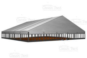 Большой двускатный шатёр CLASSIC TENT 35Х70 М