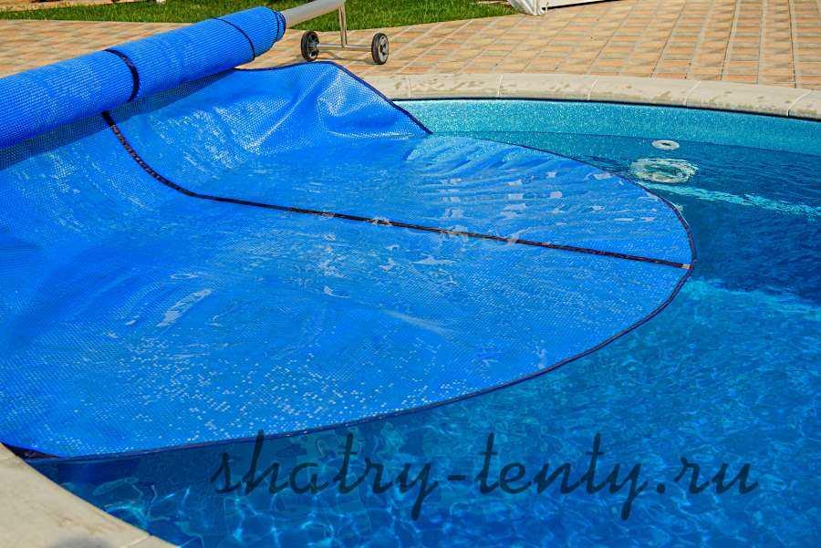 фирменный плавающий тент для бассейна