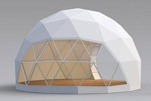Геодезический шатер модель FREEDOME D6