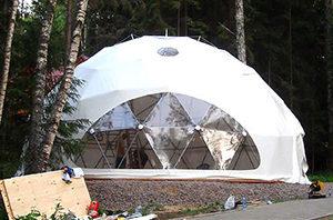 Геосферическая палатка METCONS для экспедиций и путешествий