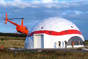 Надежная и вместимая Геосферическая палатка METCONS для экспидиций