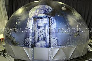 Каркасно-вакуумный планетарий ЭДВЕНЧЕ модель V-Dome с эффектом полного присутствия