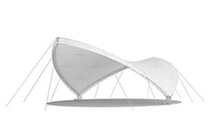 Каскадный шатер CASCADE, Производитель – «Imperialtent», Россия, схема