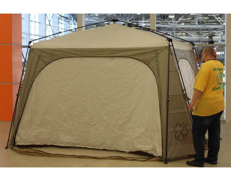 Быстросборный тент-шатер «Greenell Таерк»