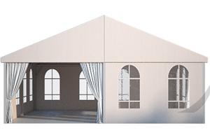 Классический двускатный шатер ФАБРИКА ШАТРОВ 10 X 10 производитель Фабрика шатров, Россия
