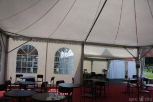 Внутренний вид классического шатра компании ROYALTENT CLASSIC RT100/10/5