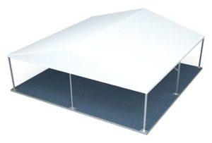 Модель классического шатра компании ROYALTENT CLASSIC RT100/10/5