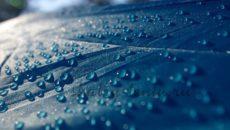 Материал для конструкций, защищающих от дождя