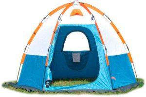 Палатка MAVERICK для зимней рыбалки Ice 5 бело-синяя