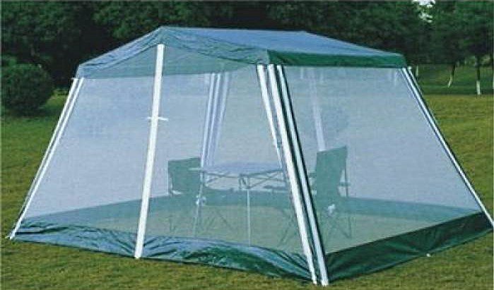 Складная мебель Trek Planet в шатре с москитной сеткой