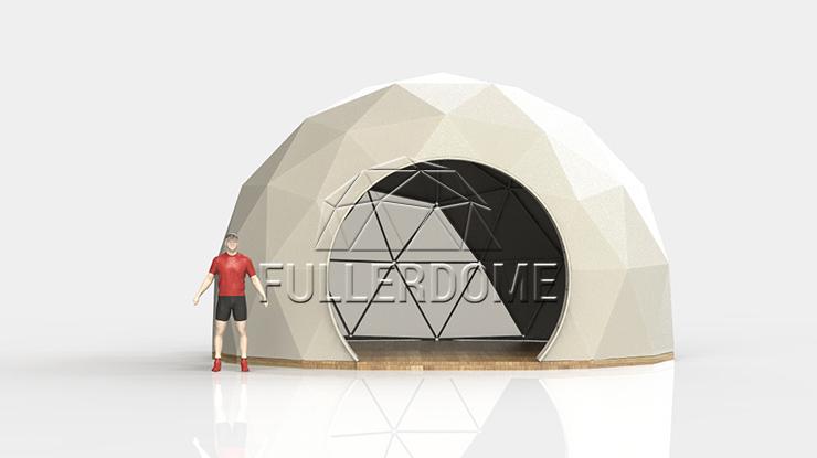 Мобильный сферический шатер FDM LITE, компания Мобильный конструкции, Россия