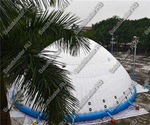 Надувной шатер БАТУТМАСТЕР «Айсберг» 8 Х 8 М в парке